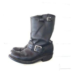 Frye Engineer Leather Moro Boots 7